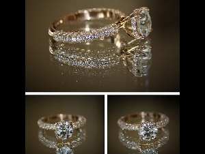 Side Stone Engagement Rings Bejouled Ltd